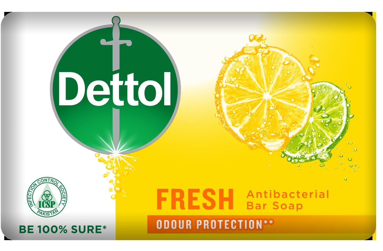 DETTOL ANTIBACTERIAL FRESH SOAP
